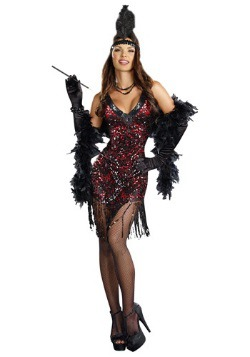 Women's Dames Like Us Flapper Costume