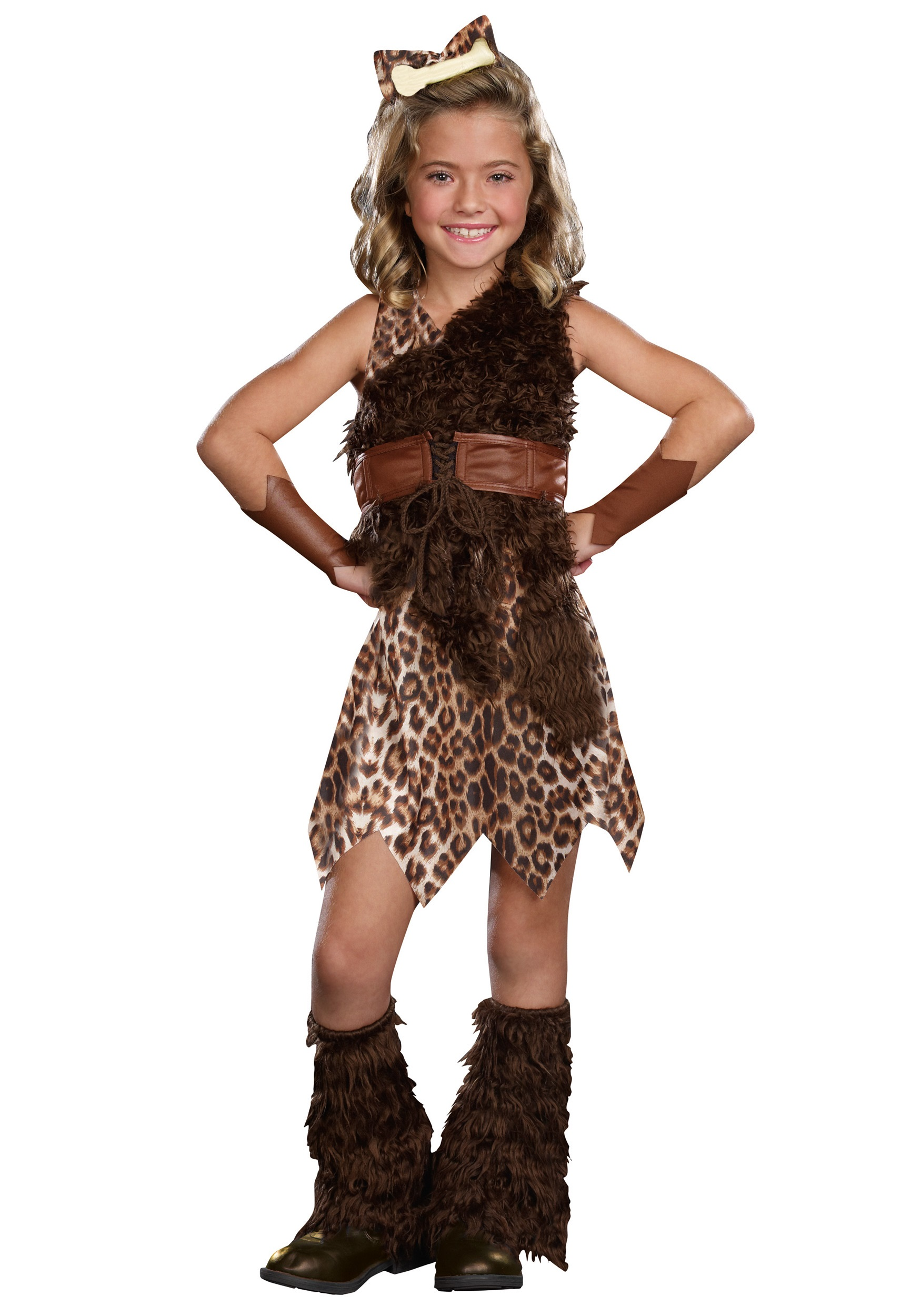 Couples Mens AND Ladies Prehistoric Caveman Woman Fancy Dress Costumes Outfit