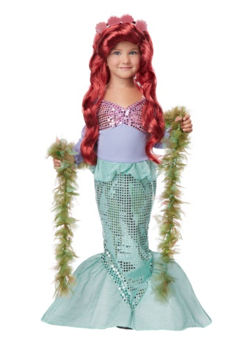 Toddler Sea Mermaid Costume