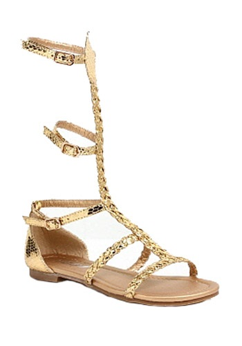 Child Egyptian Gold Sandals