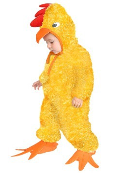 Yellow Rooster Costume For Kids