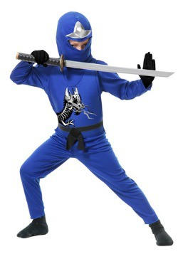 Ninja Avengers Series II Boys Blue Costume