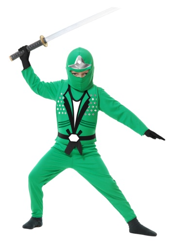 Childrens Ninja Avengers Series II Green Costume