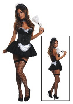Seductive Maid Womens Costume