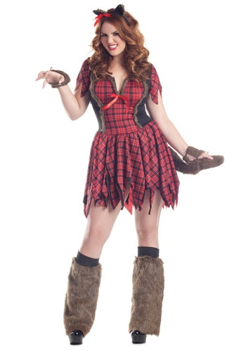 Women's Plus Size Sexy Werewolf Costume