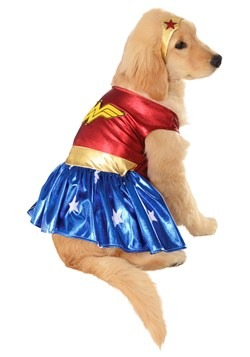 Wonder Woman Costume for Pets Update 1