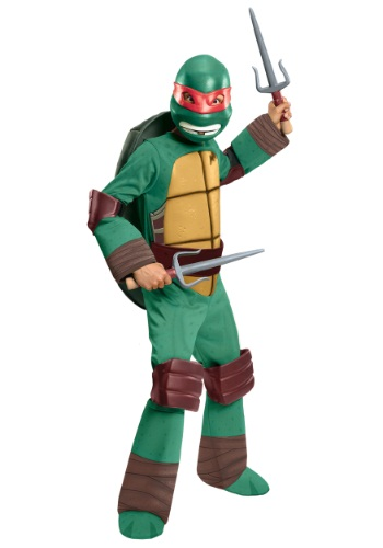 Deluxe TMNT Raphael Costume for Boys