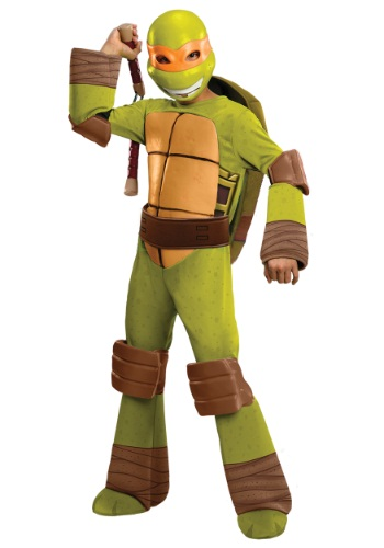 Deluxe TMNT Michelangelo Costume for Boys