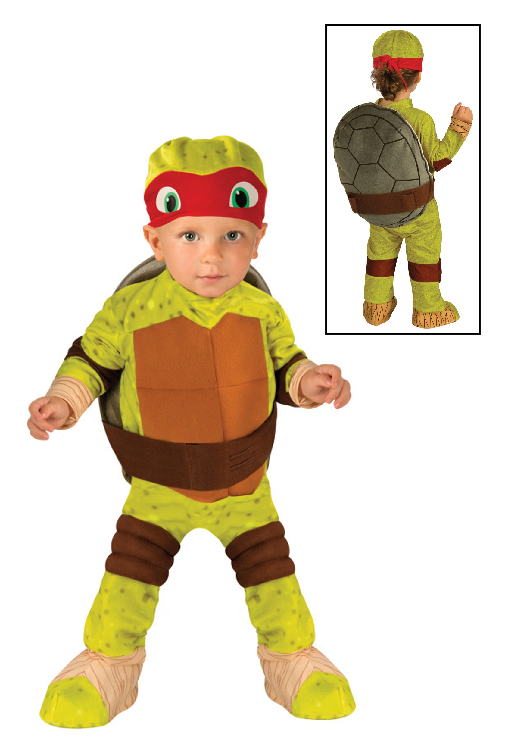 TMNT Raphael Toddler Costume  sc 1 st  Fun.com & TMNT Raphael Costume for Toddlers