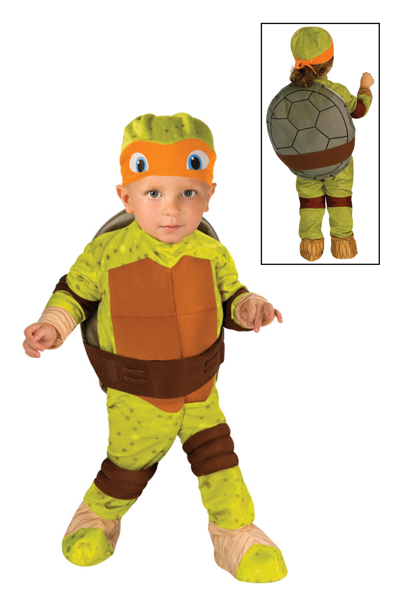 Tmnt michelangelo costume for toddlers tmnt michelangelo toddler costume solutioingenieria Image collections