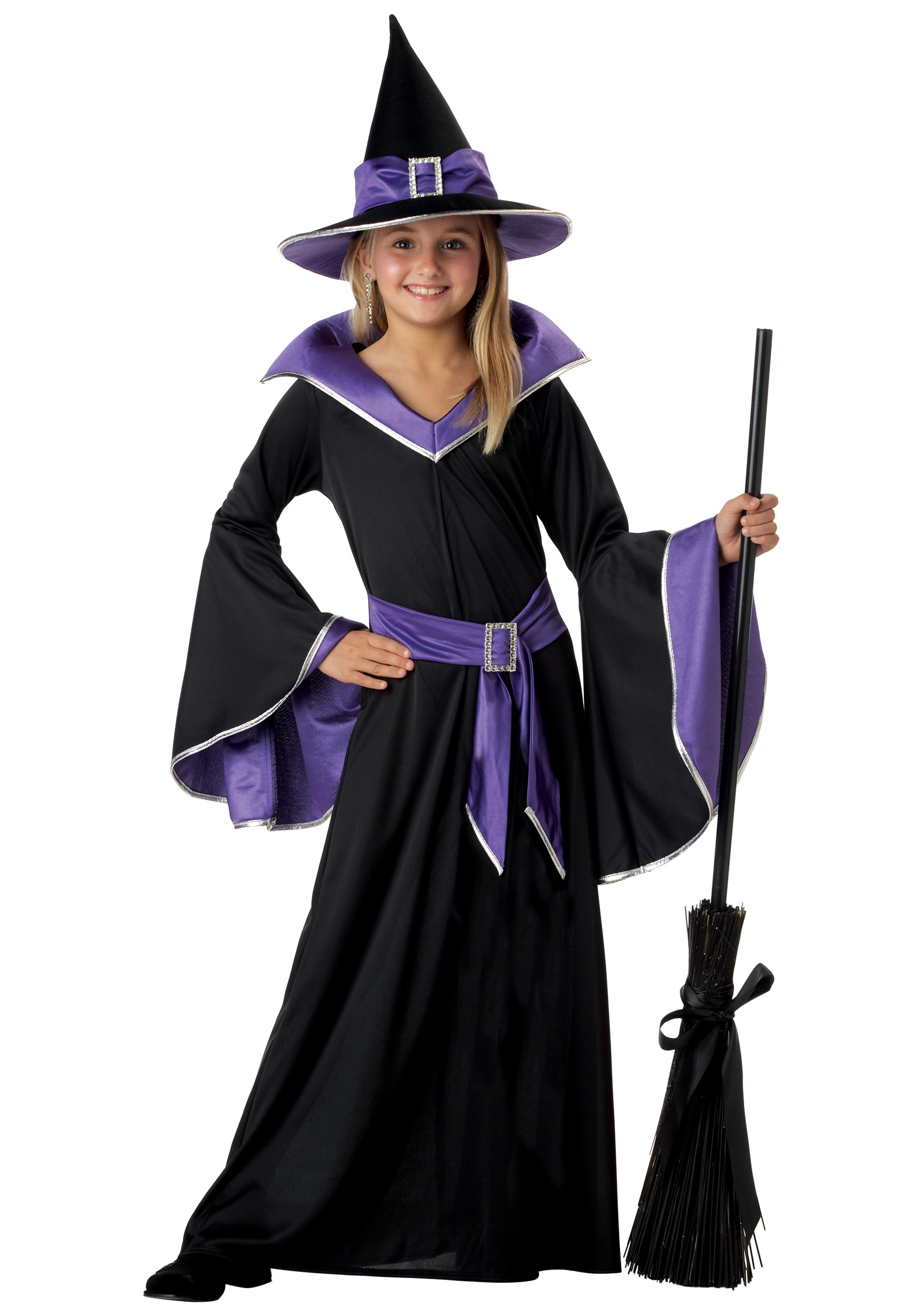 Girl\u0027s Glamour Witch Costume