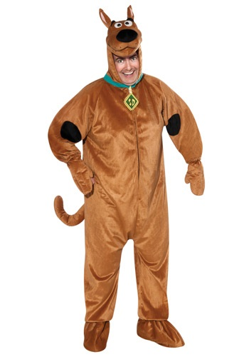 Adults Plus Size Scooby Doo Costume