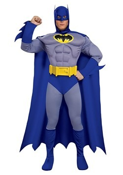 Deluxe Muscle Chest Batman Costume 1