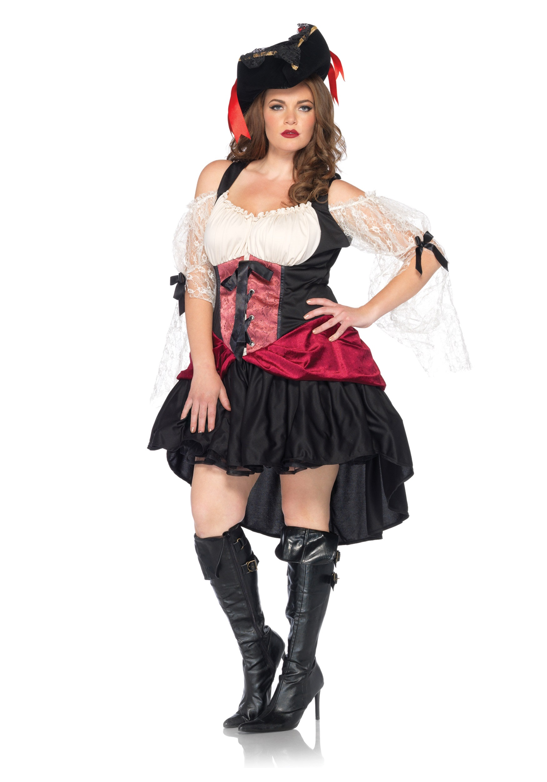 plus size wicked wench costume for women