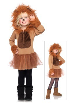 Kids Cuddly Lion Costume