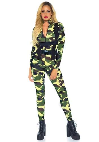 Womens Pretty Paratrooper Costume