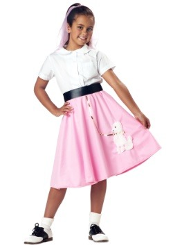 Kids Pink Poodle Skirt Update1
