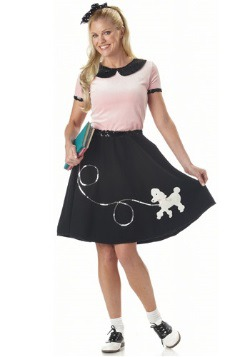 Womens Sock Hop Costume
