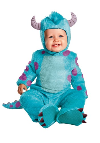 Monsters Inc Classic Sulley Costume for Infants