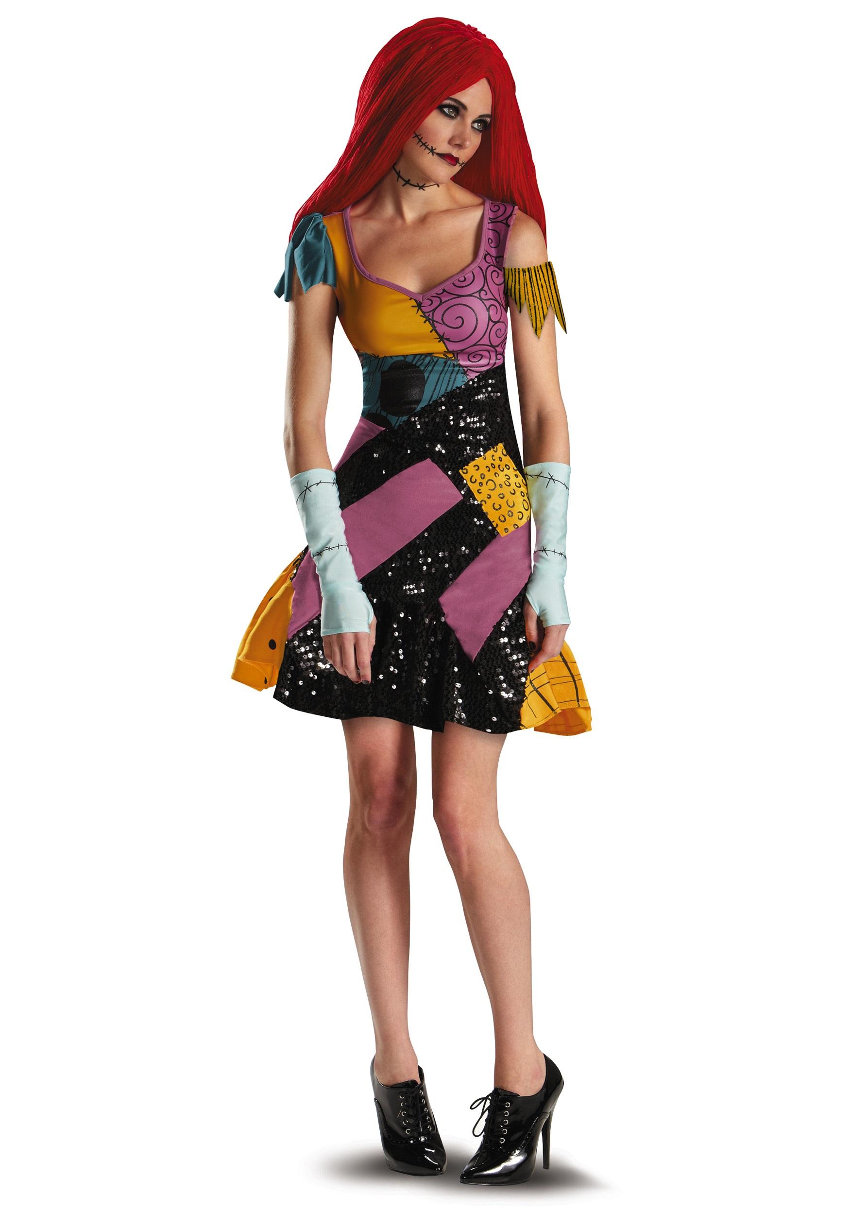 Sally glam costume for women sally glam costume solutioingenieria Gallery
