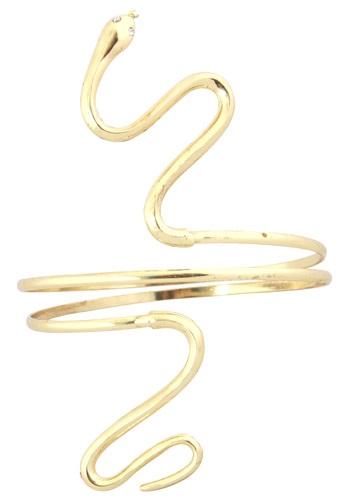 Gold Shiny Snake Armband