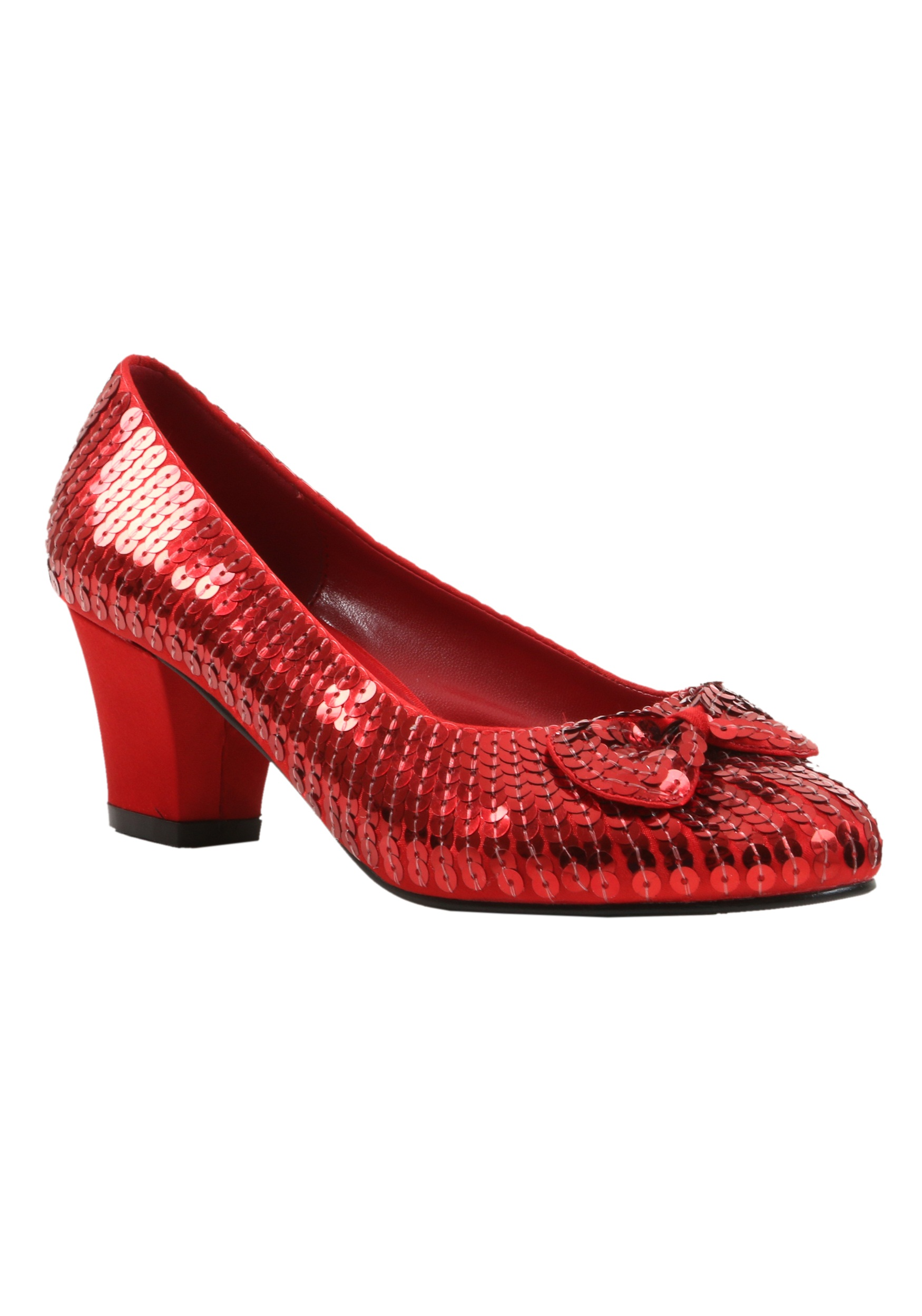 5009116a3f7 Child Red Sequin Shoes