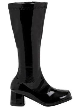 Girl's Black Gogo Boots