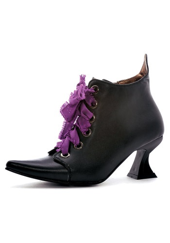 Lace Up Women's Witch Shoes