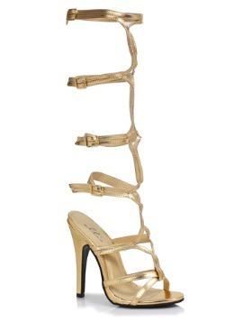 Gold Goddess Heels