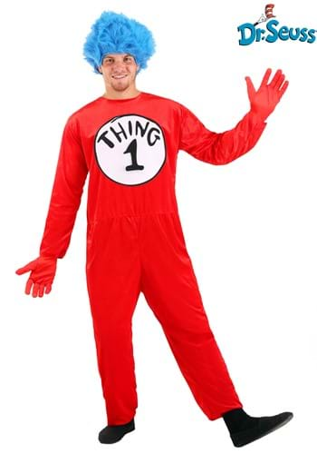 Adult Thing 1 & Thing 2 Costume please work