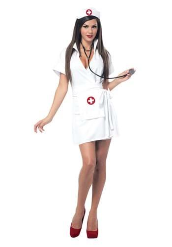 Womens Retro Nurse Costume update