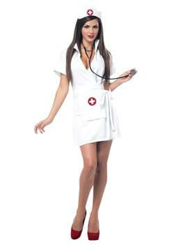 Womens Retro Nurse Costume update