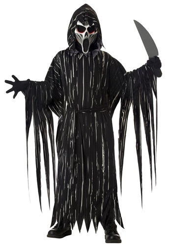 Boys Screaming Horror Costume