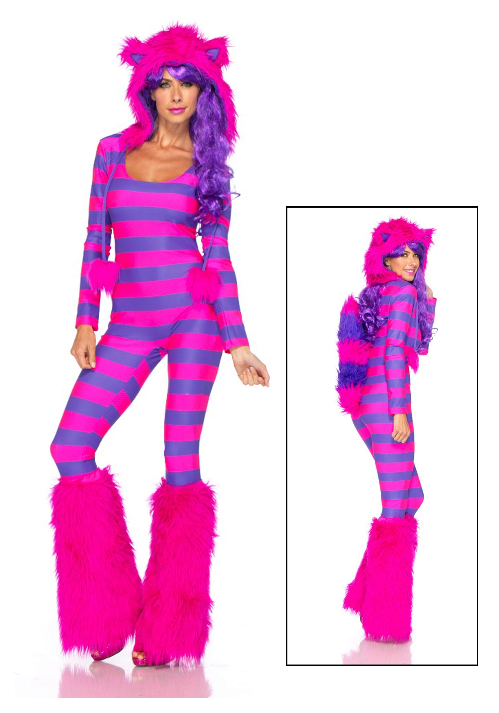 Sexy Cheshire Cat Costume-4920