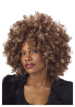 Fine Foxy Fro Wig For Adults