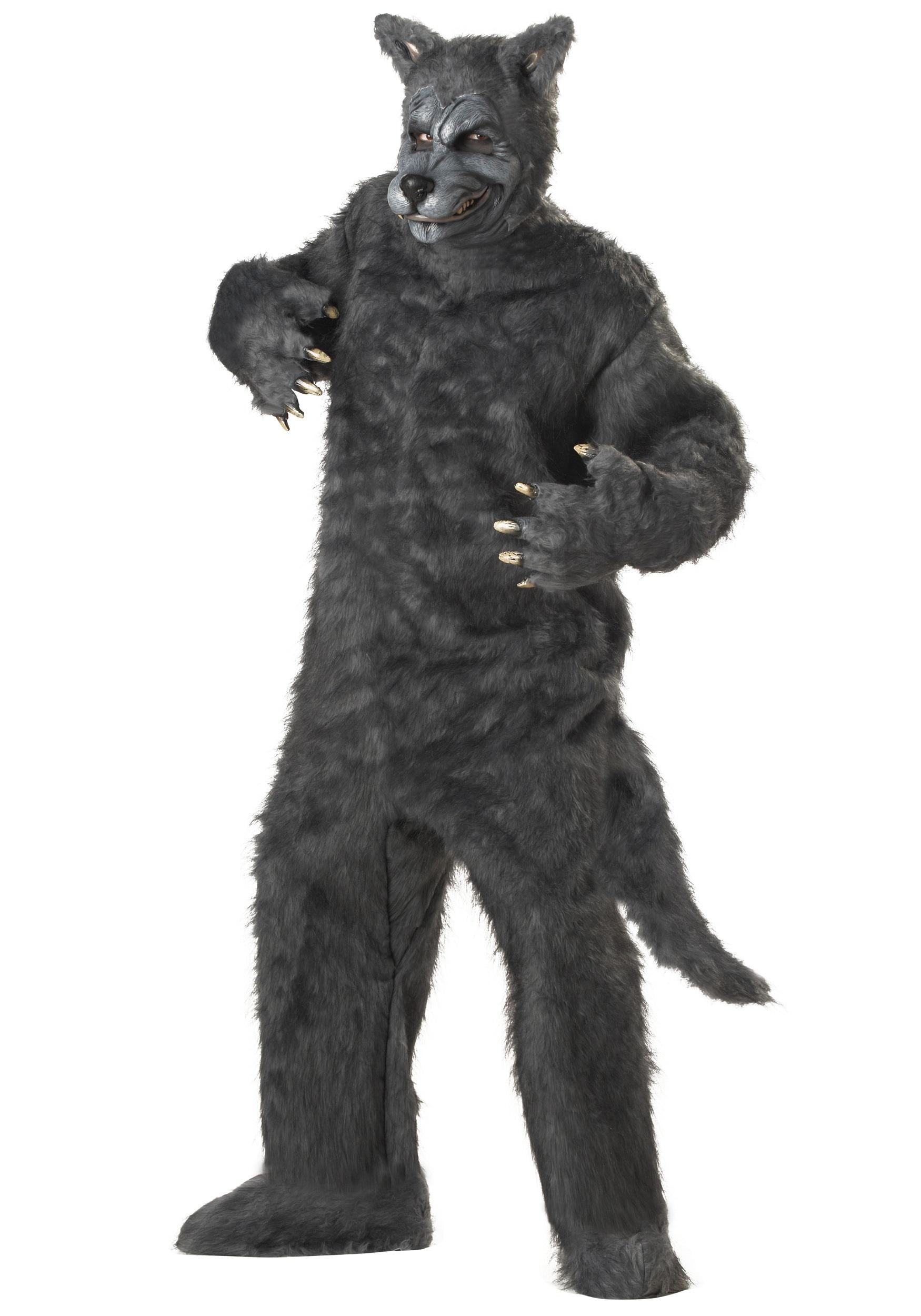 ddc2f202ea99 Big Bad Wolf Costume for Men