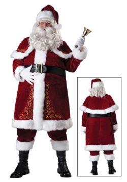 Plus Size  Adult Jolly Ole St. Nick Costume