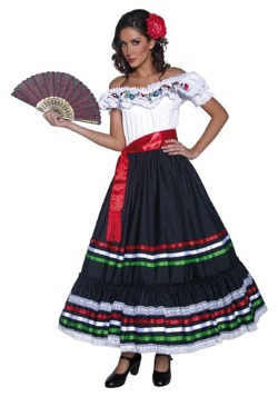 Authentic Western Senorita Costume For Women