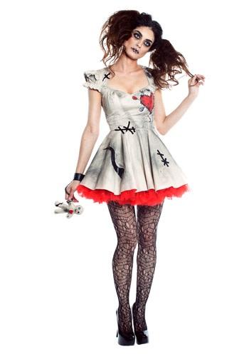 Voodoo Doll Womens Costume