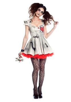 Voodoo Doll Womens Costume