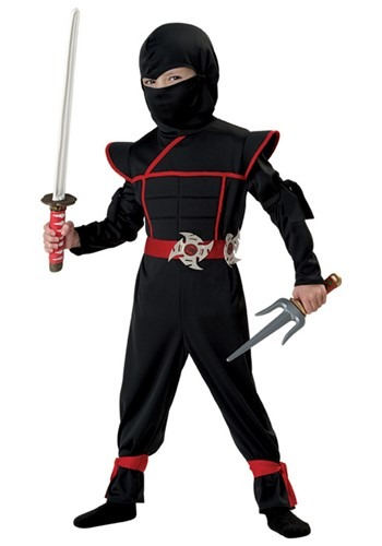 Toddlers Stealth Ninja Costume