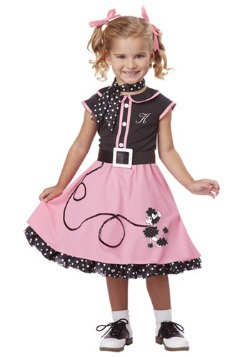 50s Poodle Cutie Toddler Costume