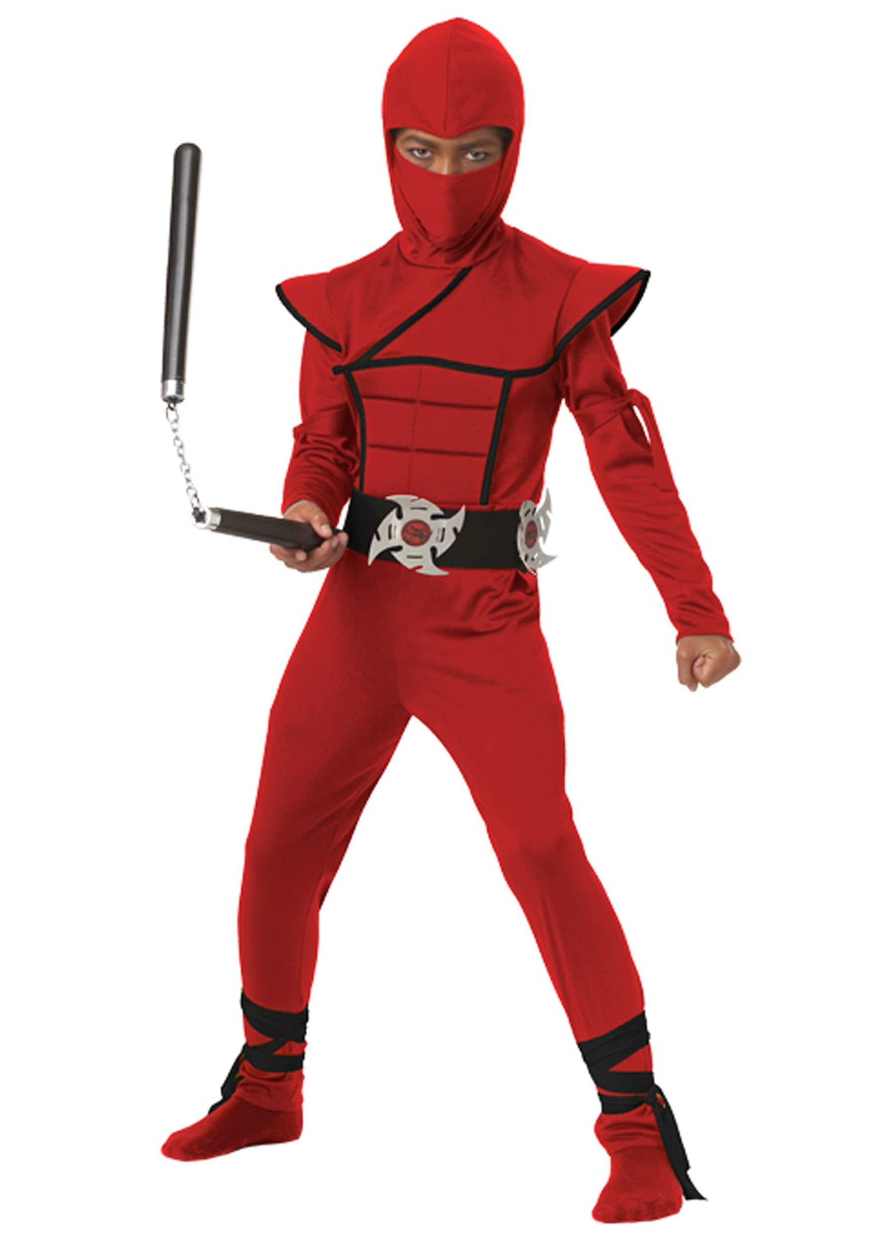 Boys Red Stealth Ninja Costume  sc 1 st  Fun.com & Red Stealth Ninja Boys Costume