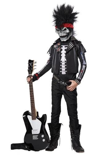 Dead Man Rockin' Boys' Costume