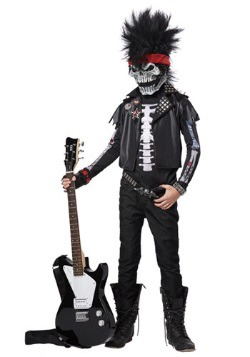 Dead Man Rockin' Boys' Costume