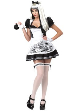 Womens Sexy Dark Alice Costume