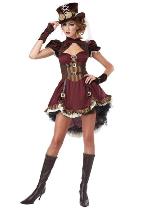 Womens Steampunk Lady Costume