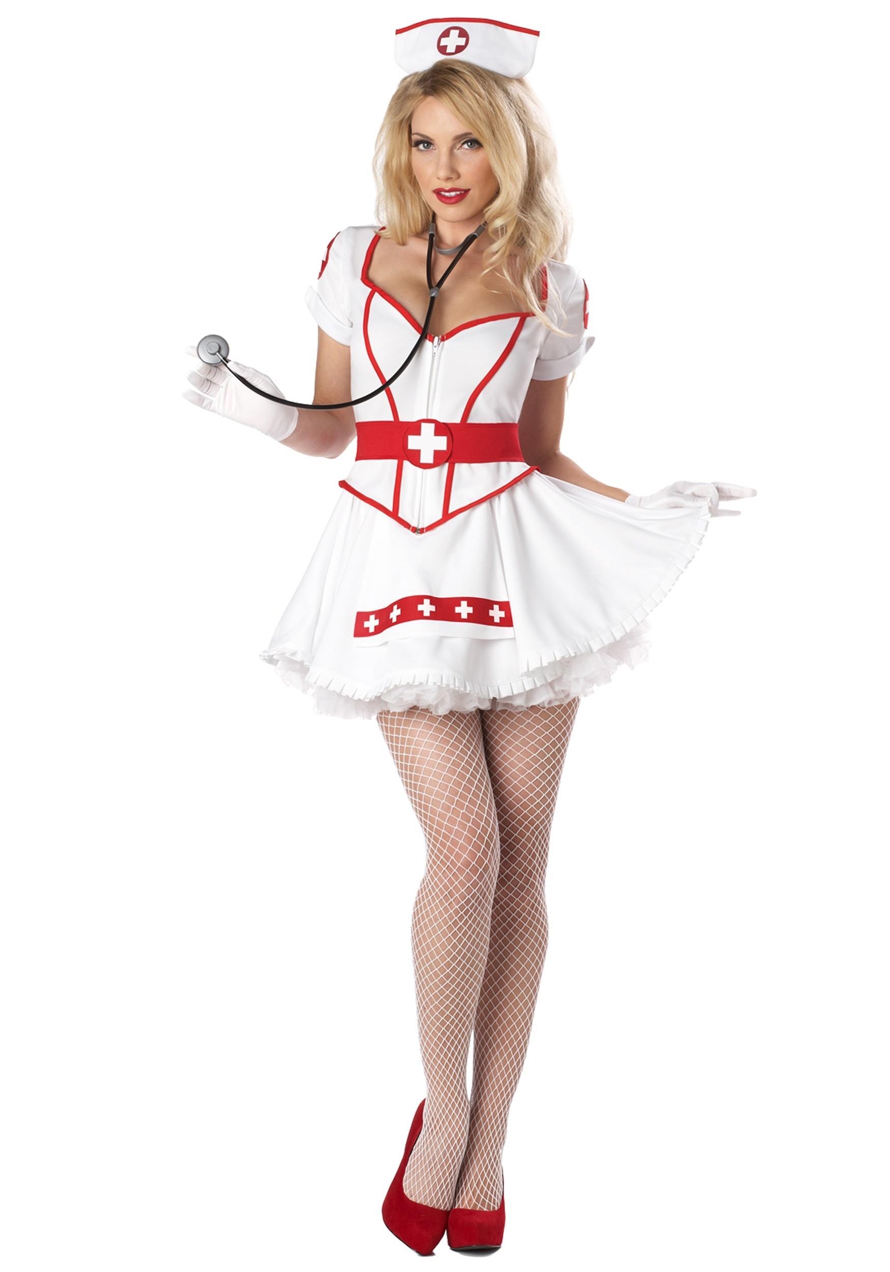 How to make a sexy nurse costume
