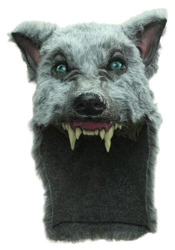 Grey Wolf Helmet Accessory