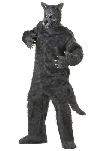 Adult Plus Size Big Bad Wolf Costume